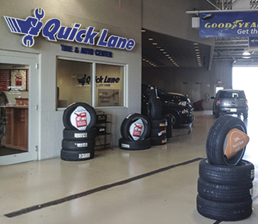 Quick Lane At V H Automotive Tires Auto Repair And Service